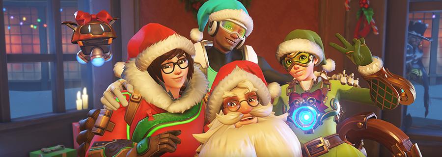 守望先锋圣诞节开启:多款新皮肤 全新乱斗上线
